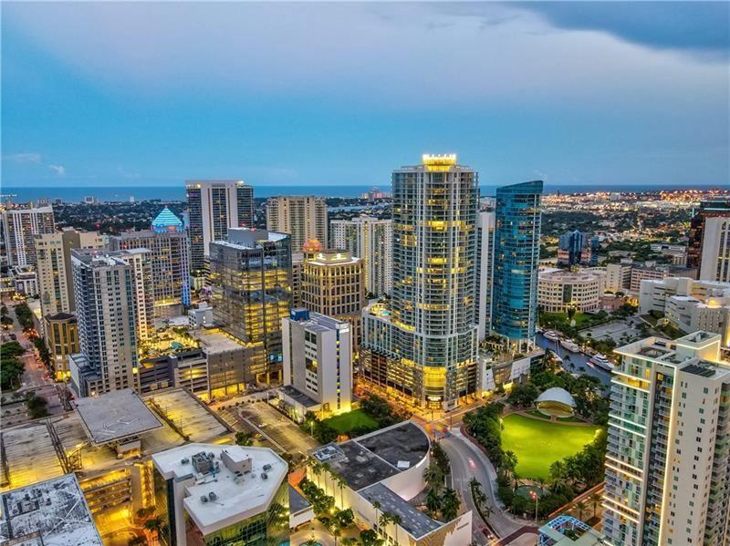 Photo of 100 E Las Olas Blvd #2402, Fort Lauderdale, FL 33301 (MLS # F10279277)