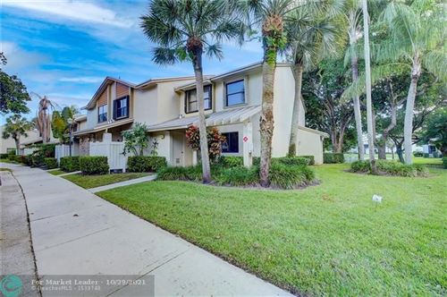 Photo of 4838 NW 22nd St #4838, Coconut Creek, FL 33063 (MLS # F10306278)