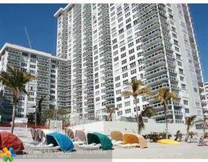 Photo of 3900 Galt Ocean Dr #409, Fort Lauderdale, FL 33308 (MLS # F10122279)