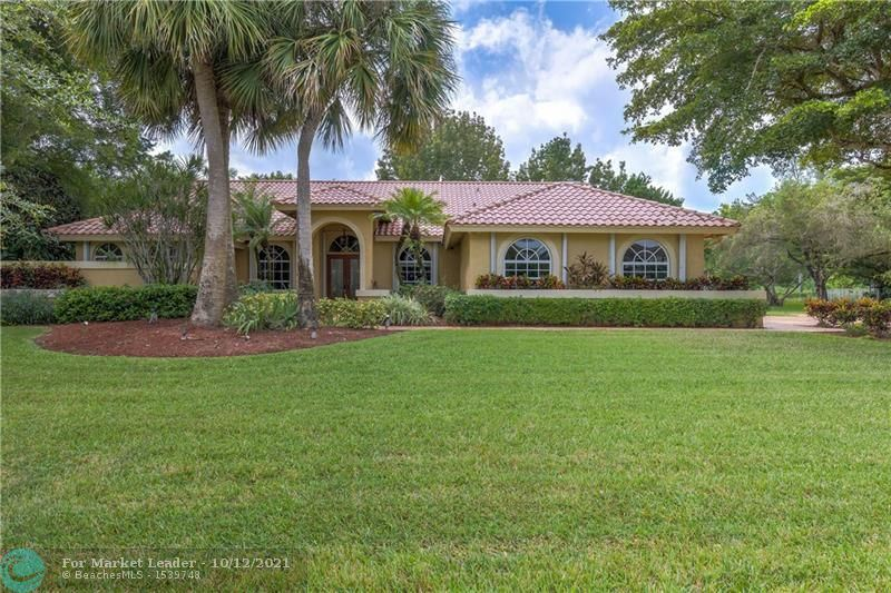 Photo of 8101 Blue Ridge Ln, Parkland, FL 33067 (MLS # F10304279)