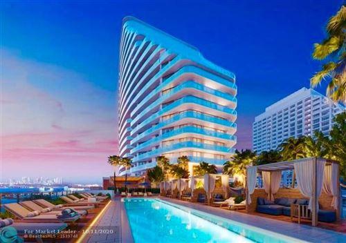 Photo of 525 N Ft Lauderdale Bch Bl #703, Fort Lauderdale, FL 33304 (MLS # F10190282)