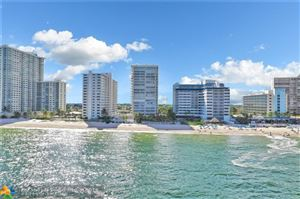 Photo of 4020 Galt Ocean Dr #1103, Fort Lauderdale, FL 33308 (MLS # F10201283)