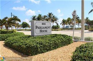 Photo of 405 N Ocean Blvd #1017, Pompano Beach, FL 33062 (MLS # F10198284)