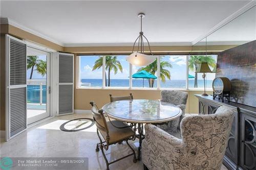 Photo of 3430 Galt Ocean Drive #106, Fort Lauderdale, FL 33308 (MLS # F10238284)