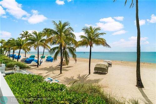 Tiny photo for 3430 Galt Ocean Drive #106, Fort Lauderdale, FL 33308 (MLS # F10238284)
