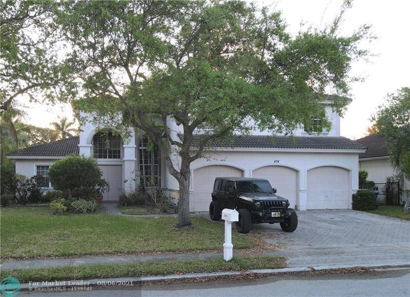 474 SW 159TH LN, Pembroke Pines, FL 33027 - MLS#: F10274290