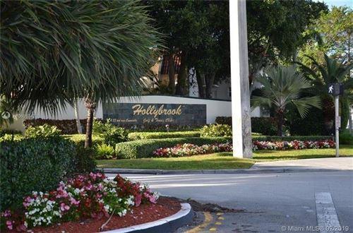 Photo of 8940 S Hollybrook Blvd #307, Pembroke Pines, FL 33025 (MLS # F10272293)