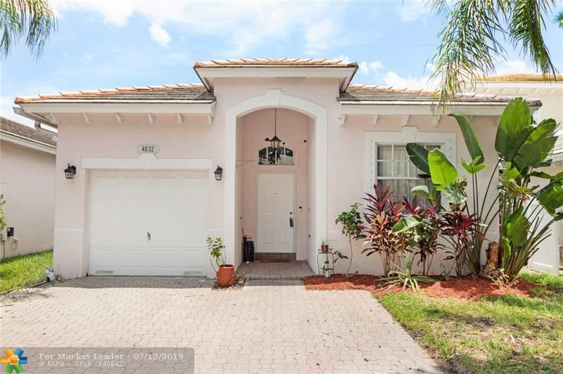 Photo for 4832 NW 19TH ST, Coconut Creek, FL 33063 (MLS # F10183294)