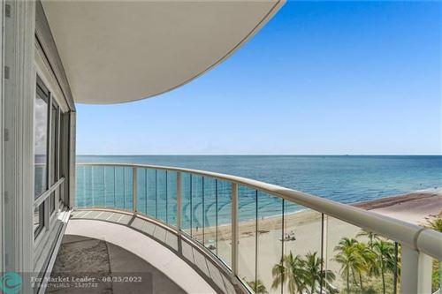 Photo of 3410 Galt Ocean Drive #702N, Fort Lauderdale, FL 33308 (MLS # F10288297)
