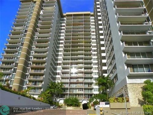 Photo of 2030 S Ocean Dr #1004, Hallandale, FL 33009 (MLS # F10257298)