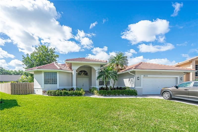 4111 NW 66th Ter, Coral Springs, FL 33067 - MLS#: F10275298