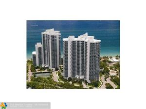 Photo of 3200 N Ocean Blvd #406, Fort Lauderdale, FL 33308 (MLS # F10123299)