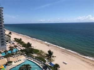 Photo of 4100 Galt Ocean Dr #1011, Fort Lauderdale, FL 33308 (MLS # F10169301)