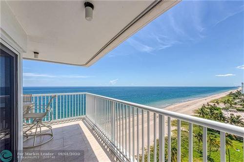 Foto de inmueble con direccion 1370 S Ocean Blvd #1401 Pompano Beach FL 33062 con MLS F10246301