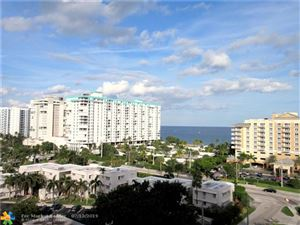 Tiny photo for 1200 HIBISCUS AVE #1003, Pompano Beach, FL 33062 (MLS # F10180302)