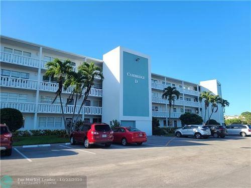 Photo of 4067 Cambridge D #4067, Deerfield Beach, FL 33442 (MLS # F10255303)