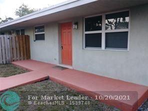 Photo of 1200 NE 5th Ter #4, Fort Lauderdale, FL 33304 (MLS # F10305306)