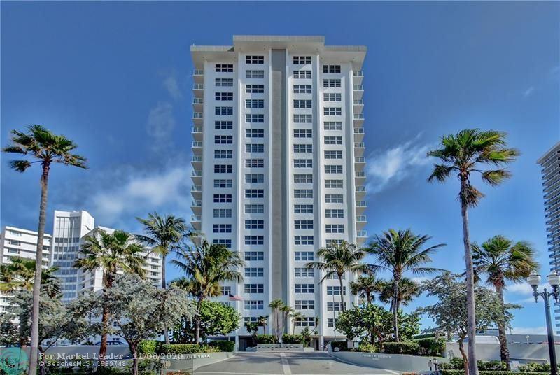 Photo of 3550 Galt Ocean Dr #702, Fort Lauderdale, FL 33308 (MLS # F10257311)