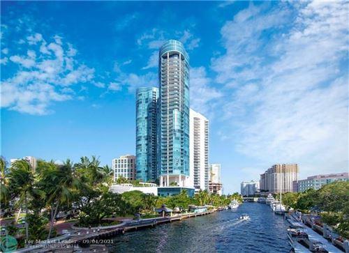 Photo of 333 Las Olas Way #3207, Fort Lauderdale, FL 33301 (MLS # F10299313)