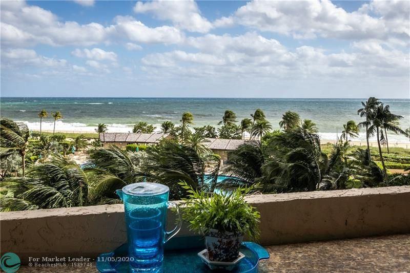 Photo of 4900 N Ocean Blvd #614C, Lauderdale By The Sea, FL 33308 (MLS # F10257315)