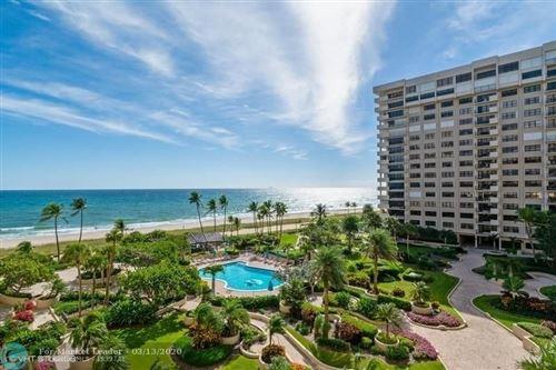 Photo of 5100 N Ocean Blvd #701, Lauderdale By The Sea, FL 33308 (MLS # F10221316)