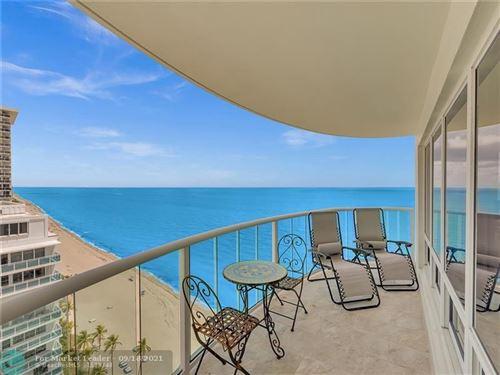 Photo of 3410 Galt Ocean Dr #1901N, Fort Lauderdale, FL 33308 (MLS # F10295316)