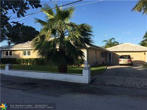 Photo of 633 Solar Isle Dr, Fort Lauderdale, FL 33301 (MLS # F10051317)