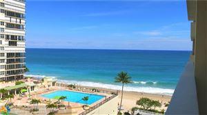 Photo of 4250 Galt Ocean Dr #8J, Fort Lauderdale, FL 33308 (MLS # F10136321)