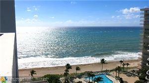 Photo of 4250 Galt Ocean Dr #14F, Fort Lauderdale, FL 33308 (MLS # F10174324)