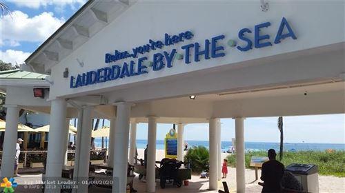 Photo of 4013 N Ocean Dr #106, Lauderdale By The Sea, FL 33308 (MLS # F10189329)
