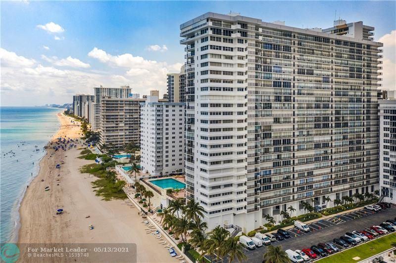Photo of 4280 Galt Ocean Dr #14J, Fort Lauderdale, FL 33308 (MLS # F10282331)