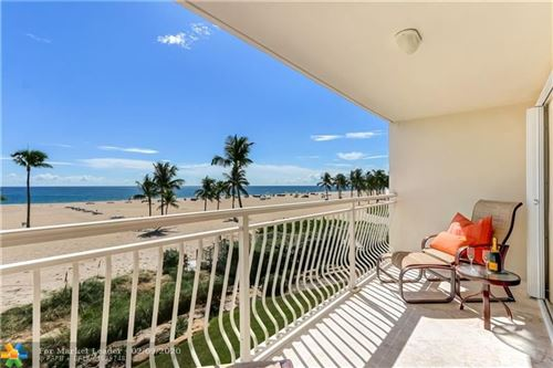 Photo of 1710 S Ocean Ln #204, Fort Lauderdale, FL 33316 (MLS # F10204332)