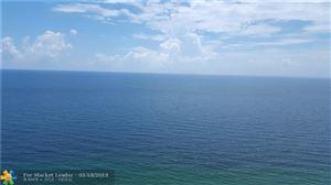 Photo of 3500 Galt Ocean Dr #2501, Fort Lauderdale, FL 33308 (MLS # F10167334)