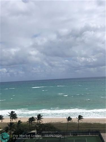 Photo of 5100 N Ocean Blvd #1416, Lauderdale By The Sea, FL 33308 (MLS # F10218336)