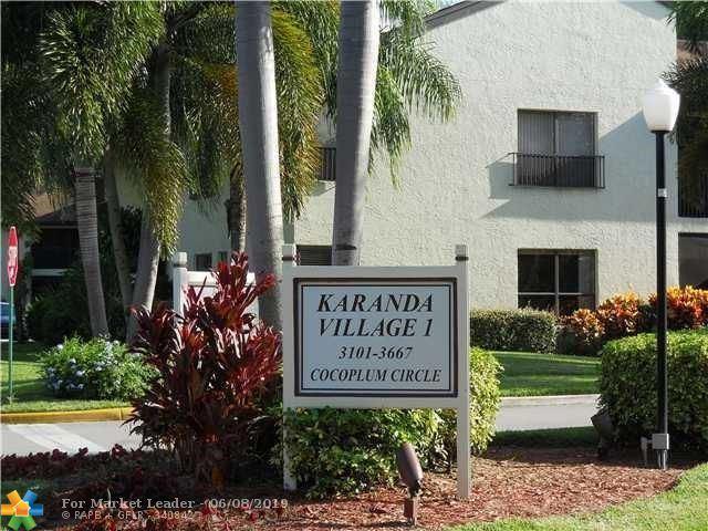 Photo for 3301 COCOPLUM CIR #3309, Coconut Creek, FL 33063 (MLS # F10179336)