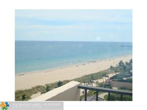 Photo of 5000 N OCEAN BL #1009, Lauderdale By The Sea, FL 33308 (MLS # F10191337)