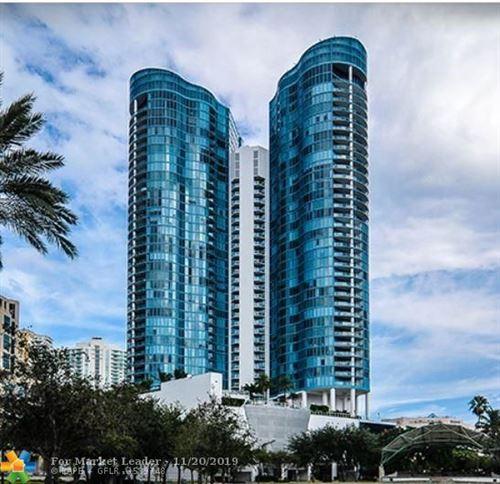 Photo of 333 Las Olas Way #3706, Fort Lauderdale, FL 33301 (MLS # F10201337)