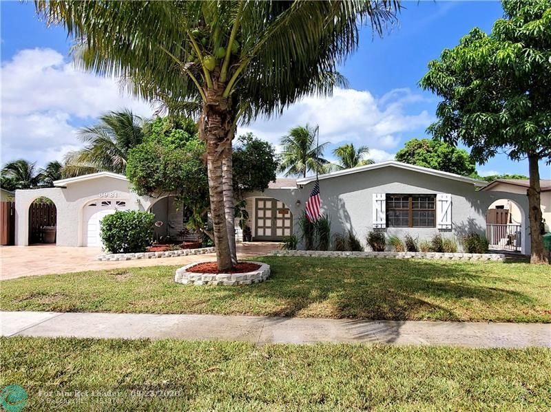 Photo of 6981 NW 5th Pl, Margate, FL 33063 (MLS # F10250338)
