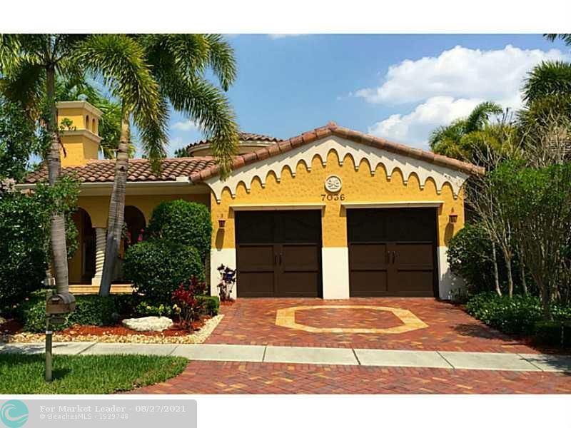 Photo for 7036 SPYGLASS AVE, Parkland, FL 33076 (MLS # F10298338)