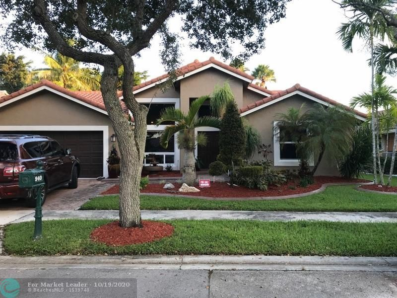 940 Lakewood Ct, Weston, FL 33326 - #: F10254340