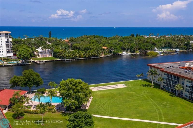 Photo of 3100 NE 48th Ct #406, Lighthouse Point, FL 33064 (MLS # F10256343)