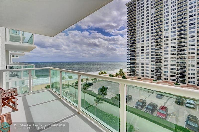 Photo of 3550 Galt Ocean Dr #704, Fort Lauderdale, FL 33308 (MLS # F10257343)