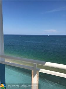 Photo of 3430 Galt Ocean Dr #1407, Fort Lauderdale, FL 33308 (MLS # F10190344)