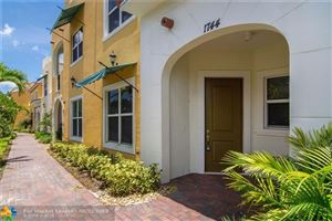 Photo of 1744 NW 124 Place #1744, Pembroke Pines, FL 33028 (MLS # F10183345)