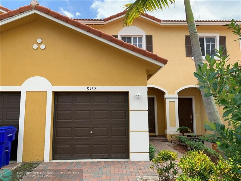 8138 SW 17th Ct #8138, North Lauderdale, FL 33068 - #: F10254347
