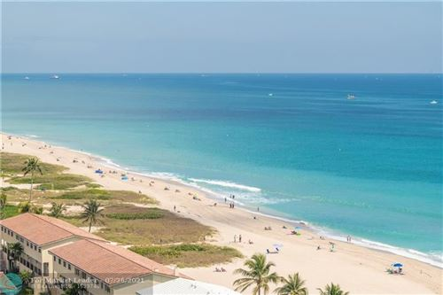 Photo of 5200 N Ocean Blvd #1608, Lauderdale By The Sea, FL 33308 (MLS # F10277348)
