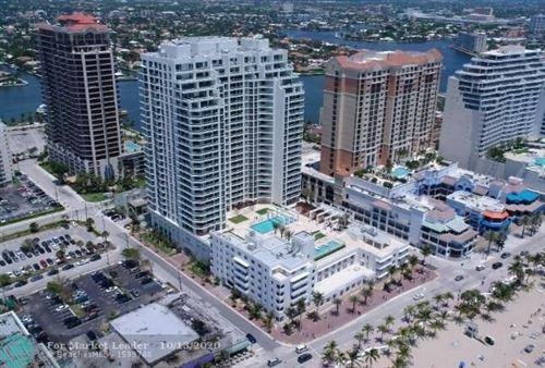 Photo of 101 S FORT LAUDERDALE BEACH BLVD #801, Fort Lauderdale, FL 33316 (MLS # F10252353)
