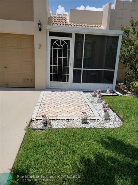 9110 Tracy Ct #7, Boca Raton, FL 33496 - #: F10240354