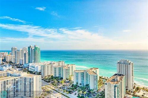 Photo of 4010 S Ocean Dr #3509, Hollywood, FL 33019 (MLS # F10255357)