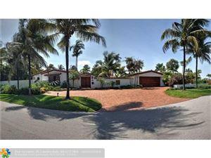 Photo of 1511 E LAKE DR, Fort Lauderdale, FL 33316 (MLS # F10113359)